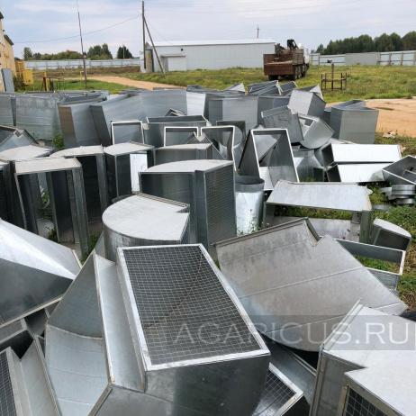Заготовки для воздуховодов климатического оборудования камер выращивания