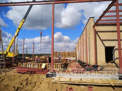 Общий план строительства компостного цеха