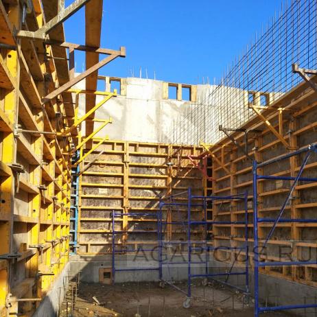 Строительство бункеров 1 фазы