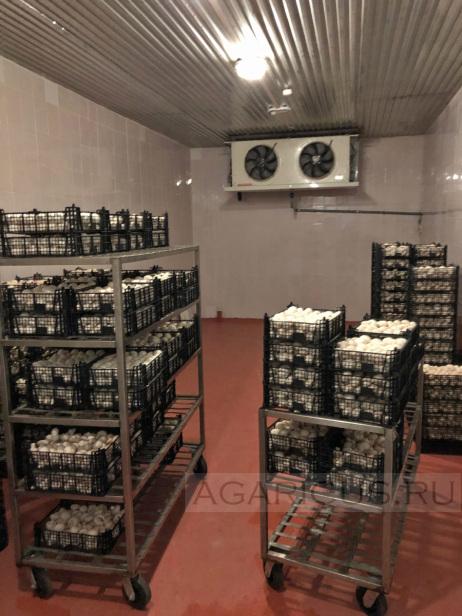 Один из складов для готовой продукции